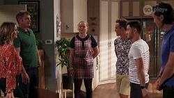 Amy Williams, Gary Canning, Harlow Robinson, Aaron Brennan, David Tanaka, Leo Tanaka in Neighbours Episode 8147