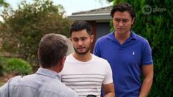 Paul Robinson, David Tanaka, Leo Tanaka in Neighbours Episode 8147