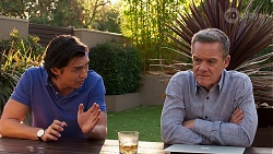Leo Tanaka, Paul Robinson in Neighbours Episode 8148