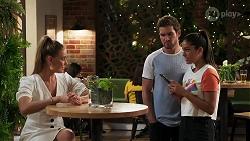 Chloe Brennan, Ned Willis, Yashvi Rebecchi in Neighbours Episode 8149