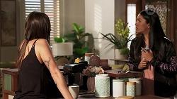 Bea Nilsson, Yashvi Rebecchi in Neighbours Episode 8149