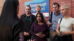 Yashvi Rebecchi, Alfie Sutton in Neighbours Episode 8149
