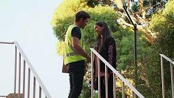 Ned Willis, Yashvi Rebecchi in Neighbours Episode 8149