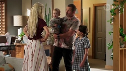 Dee Bliss, Hugo Somers, Toadie Rebecchi, Nell Rebecchi in Neighbours Episode 8150