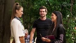 Chloe Brennan, Ned Willis, Yashvi Rebecchi in Neighbours Episode 8150