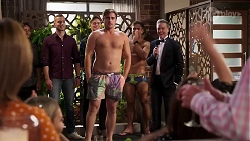 Kyle Canning, Aaron Brennan, Paul Robinson in Neighbours Episode 8151