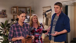 Amy Williams, Sheila Canning, Gary Canning in Neighbours Episode 8152