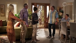 Dee Bliss, Karl Kennedy, Susan Kennedy, Toadie Rebecchi, Finn Kelly in Neighbours Episode 8153