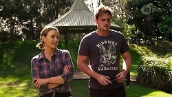 Amy Williams, Kyle Canning in Neighbours Episode 8154