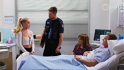Roxy Willis, Mark Brennan, Terese Willis, Paul Robinson in Neighbours Episode 8156