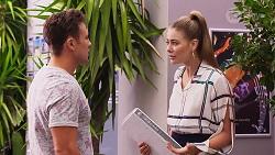 Aaron Brennan, Chloe Brennan in Neighbours Episode 8156