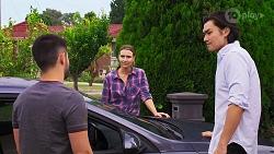 David Tanaka, Amy Williams, Leo Tanaka in Neighbours Episode 8156