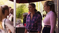 Roxy Willis, Amy Williams, Harlow Robinson in Neighbours Episode 8156