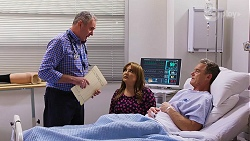 Karl Kennedy, Terese Willis, Paul Robinson in Neighbours Episode 8156