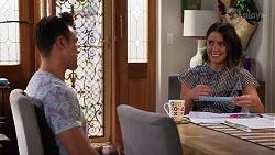 Aaron Brennan, Elly Conway in Neighbours Episode 8156
