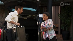 Ned Willis, Yashvi Rebecchi in Neighbours Episode 8157
