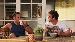 Aaron Brennan, Kyle Canning in Neighbours Episode 8158