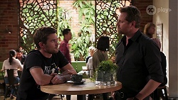 Ned Willis, Shane Rebecchi in Neighbours Episode 8158