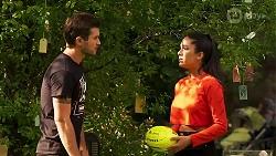 Ned Willis, Yashvi Rebecchi in Neighbours Episode 8158
