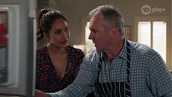 Dipi Rebecchi, Karl Kennedy in Neighbours Episode 8158