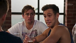 Kyle Canning, Aaron Brennan in Neighbours Episode 8158