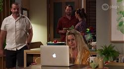 Toadie Rebecchi, Shane Rebecchi, Dipi Rebecchi, Dee Bliss in Neighbours Episode 8159
