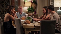 Elly Conway, Karl Kennedy, Bea Nilsson, Finn Kelly in Neighbours Episode 8159