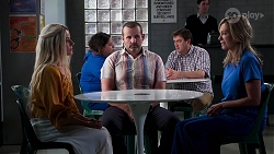 Dee Bliss, Toadie Rebecchi, Heather Schilling in Neighbours Episode 8159