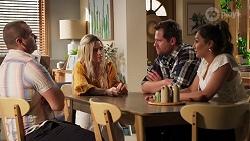 Toadie Rebecchi, Dee Bliss, Shane Rebecchi, Dipi Rebecchi in Neighbours Episode 8159