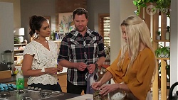 Dipi Rebecchi, Shane Rebecchi, Dee Bliss in Neighbours Episode 8160