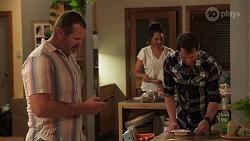 Toadie Rebecchi, Dipi Rebecchi, Shane Rebecchi in Neighbours Episode 8160