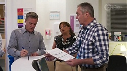 Paul Robinson, Terese Willis, Karl Kennedy in Neighbours Episode 8160