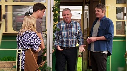 Sheila Canning, Kyle Canning, Karl Kennedy, Gary Canning in Neighbours Episode 8160