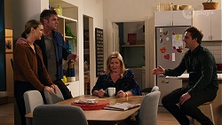 Amy Williams, Gary Canning, Sheila Canning, Kyle Canning in Neighbours Episode 8162