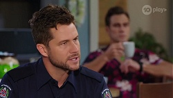 Mark Brennan, Aaron Brennan in Neighbours Episode 8162