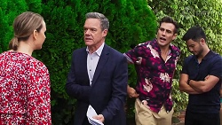 Amy Williams, Paul Robinson, Aaron Brennan, David Tanaka in Neighbours Episode 8162