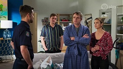 Mark Brennan, Kyle Canning, Gary Canning, Amy Williams in Neighbours Episode 8162