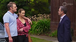 Gary Canning, Amy Williams, Paul Robinson in Neighbours Episode 8162