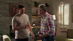Finn Kelly, Karl Kennedy in Neighbours Episode 8163