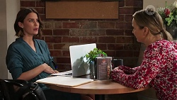 Elly Conway, Chloe Brennan in Neighbours Episode 8163