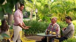 Pierce Greyson, Karl Kennedy, Finn Kelly in Neighbours Episode 8163