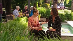 Chloe Brennan, Elly Conway in Neighbours Episode 8164