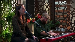 Bea Nilsson, Keyboardist in Neighbours Episode 8164
