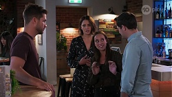 Mark Brennan, Elly Conway, Bea Nilsson, Finn Kelly in Neighbours Episode 8165