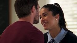 Ned Willis, Yashvi Rebecchi in Neighbours Episode 8165