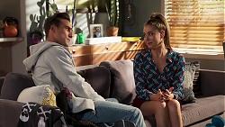 Aaron Brennan, Chloe Brennan in Neighbours Episode 8165