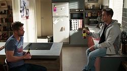 Mark Brennan, Aaron Brennan in Neighbours Episode 8165