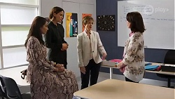 Dipi Rebecchi, Elly Conway, Susan Kennedy, Angela Lane in Neighbours Episode 8166