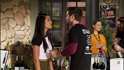 Yashvi Rebecchi, Ned Willis in Neighbours Episode 8166
