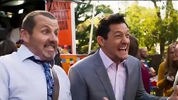Toadie Rebecchi, Finn Kelly in Neighbours Episode 8166
